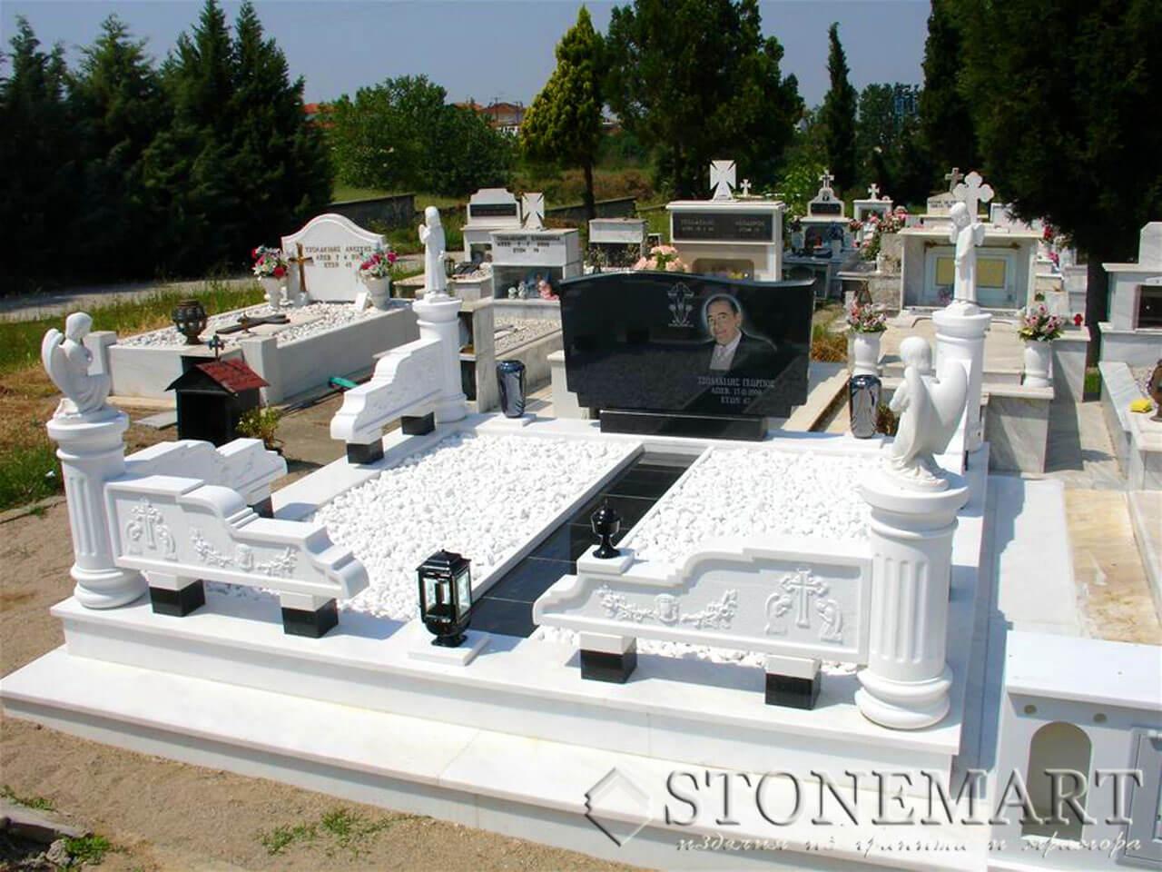 Мемориальный комплекс из мрамора №11