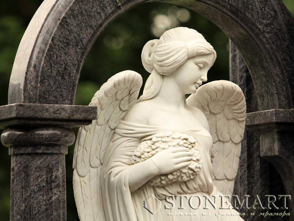 10. Скульптура ангела