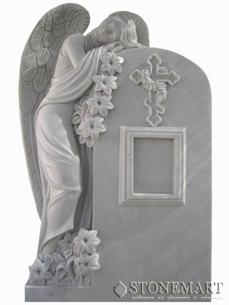 53. Ангел с памятником