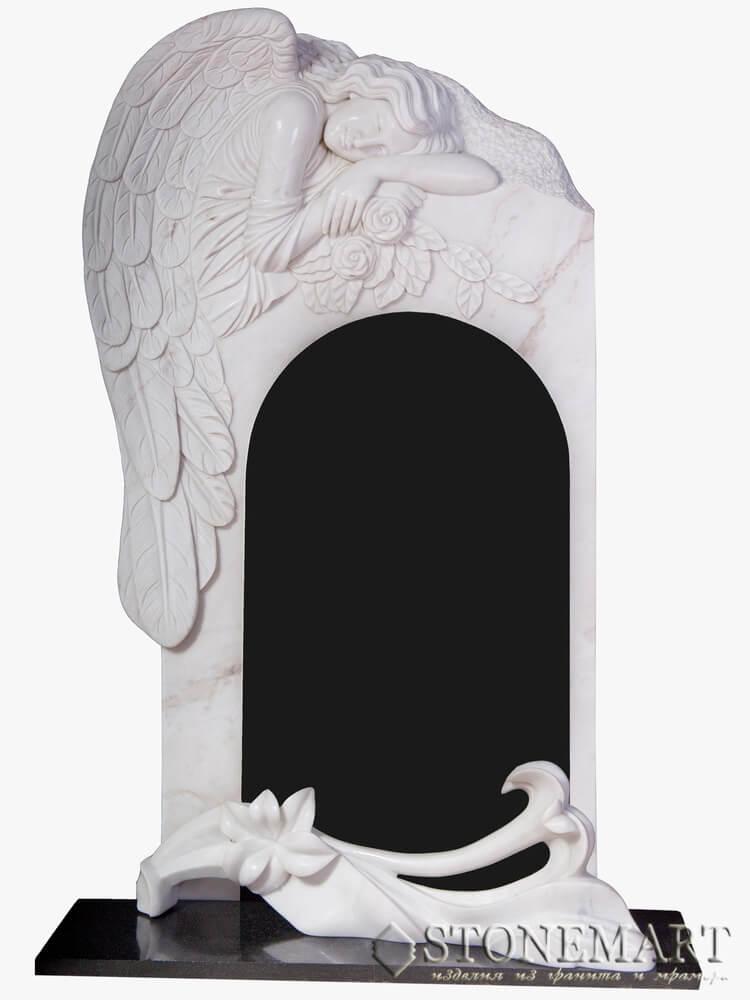55. Ангел с памятником