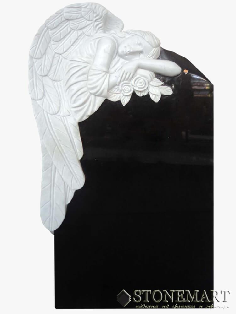 56. Ангел с памятником